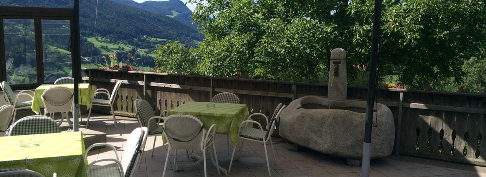 Albergo sturmhof villandro alto adige - Giardino d inverno terrazza ...